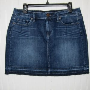 LOFT Denim Mini Skirt Size 10P